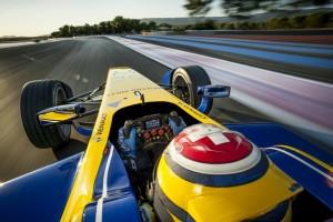 Formula E on track